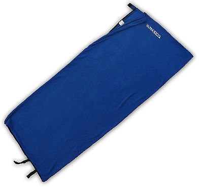 Ultracamp Fleece Sleeping Bag Liner & Carry Sack, Single Envelope, Large & Warm