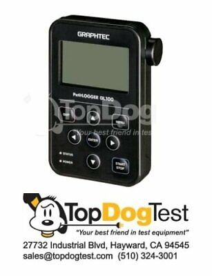 New Graphtec GL100-WL Compact Wireless Data Logger