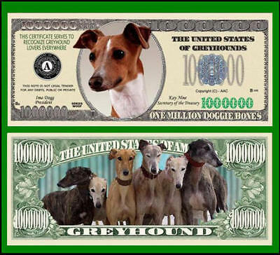 15 Factory Fresh Novelty Greyhound Million Dollar Bills