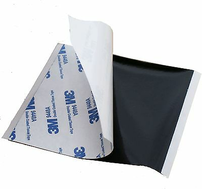 BLACK 0.15mm thick ~ 3M DOUBLE SIDED PADS Self Adhesive Sticky TISSUE TAPE 9448A