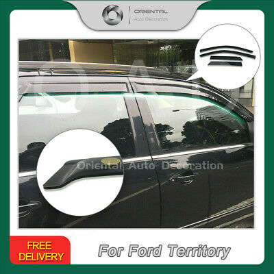 Premium Weather Shields Window Visor Weathershields for Ford Territory 2004-2019