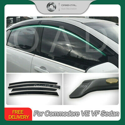 Premium Weathershields Weather Shields Window Visor Commodore VE VF sedan 4pcs