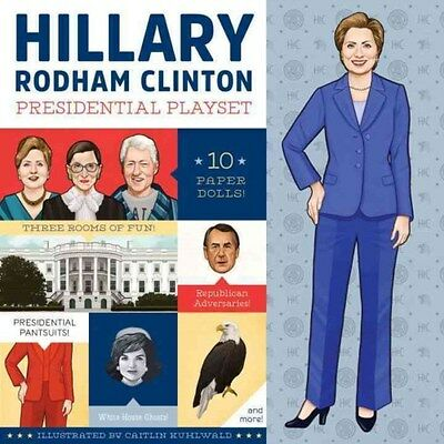 Hillary Rodham Clinton Presidential Playset 9781594748318, BRAND NEW FREE P&H