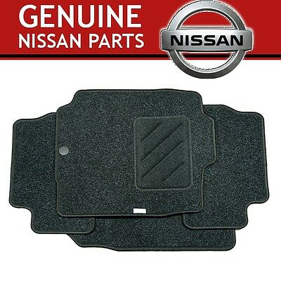New Genuine NISSAN MICRA 2002-2010 K12 Tailored Carpet Floor mats -Front & Rears
