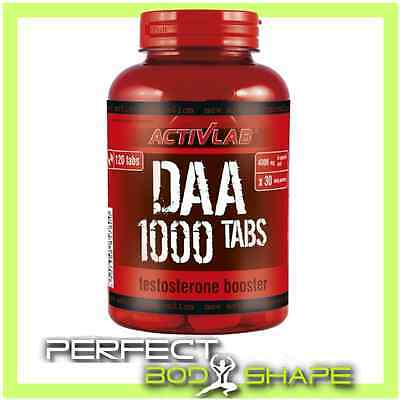ActivLab DAA 1000 120 tabs Natural Testosterone Booster D-aspartic Acid Chewable