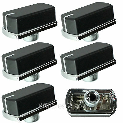 6 x Genuine BELLING Hob Oven Cooker Switch Knobs 444449577 444449571 444449576