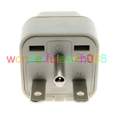 North American US NEMA 6-15P Electrical Plug Adapter Universal Outlet BK 1 PC