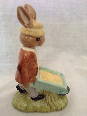 Royal Doulton Bunnykins Figure Gardener Boxed
