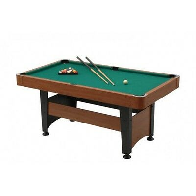 Biliardo Pool Chicago 5 Garlando 2a Scelta + Accessori Piano Gioco 160x80
