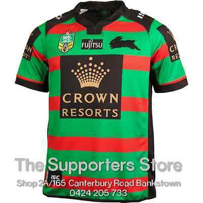 South Sydney Rabbitohs NRL 2016 Home ISC Jersey Sizes S-7XL! New 2016 Style!