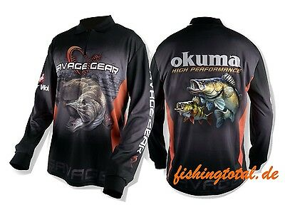 SAVAGE GEAR Tournament Jersey Pike/Zander/Perch -Größe wählbar- Wettkampf Shirt