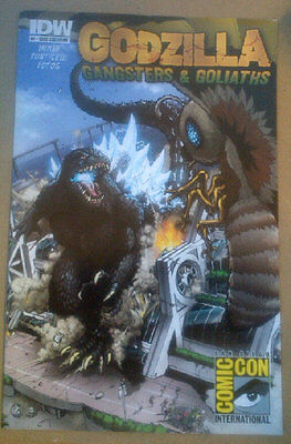 GODZILLA : GANGSTERS AND GOLIATHS #1 SDCC Exclusive 2011