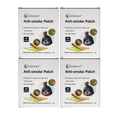 120 PATCHES Nicotine Patches NATURAL HERBAL QUIT STOP SMOKING PATCH TRANSDERMAL