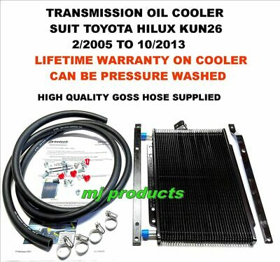 Toyota hilux kun26 automatic transmission oil cooler kit (large) long/true-cool
