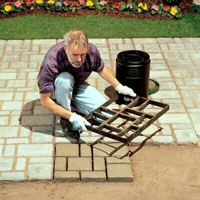 EUROPEAN BLOCK PAVER MAKER DIY mould concrete path patio walkmaker pathmate Ex