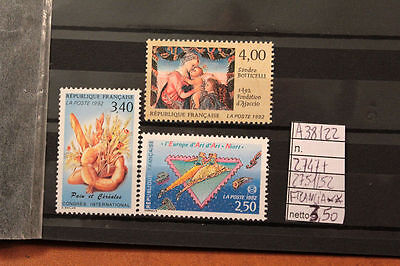 Stamps France Mnh ** N. 2747+2751/2752 (A38122)