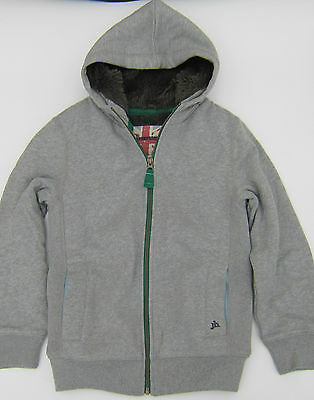 Boden Johnnie B Boys Shaggy Lined Hoody Jacket 2 Colours Ages 7-16  Bnwot