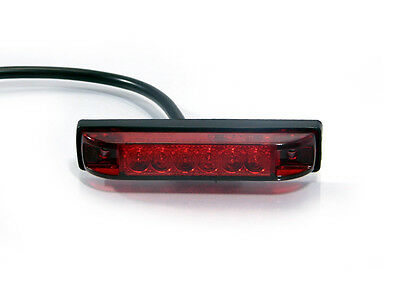 """Stop Tail Light Retro for Streetfighter Project Bike 4"""" 100mm Flush Mounted"""