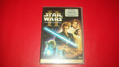Star Wars II - L'Attaque des Clones - Ed. 2 DVD Neuf sous blister
