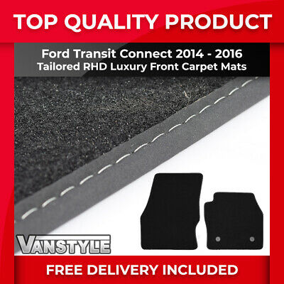 Ford Transit Connect 2002-13 Fully Tailored Van Floor Mats Luxury Tufted Carpet