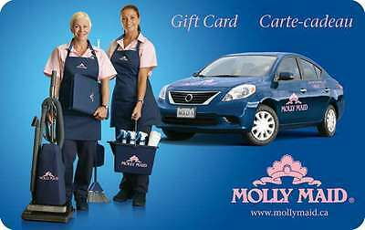 Molly Maid Gift Card - $100 Mail Delivery