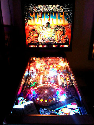 Flipper Led Pinball Bally Strange Science 5 Ball Multiball