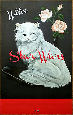 WILCO Star Wars 2015 Ltd Ed New RARE Poster +FREE Indie Alt Rock Punk Poster!