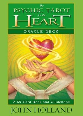 Psychic Tarot for the Heart Oracle Deck 9781401940256 by John Holland, Paperback