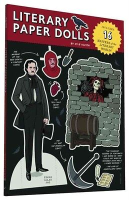 Literary Paper Dolls: Includes 16 Masters of the Literary World! 9781452144368