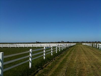 Zappa Rail horse Fencing 100% Australian Made.   100m complete Kit
