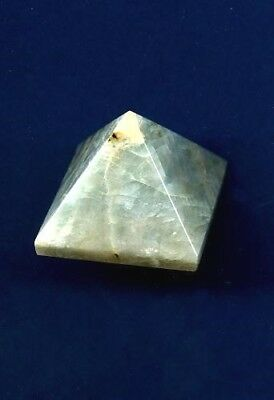 Aquamarine Gemstone Pyramid #2