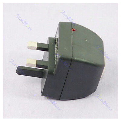 AC to DC 12V Car Charger Socket Switch Transformer UK N