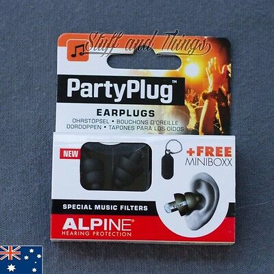 Alpine Party Plugs - Hearing Protection Earplugs for music, concerts, parties!