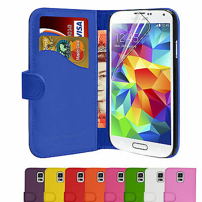 Wallet Leather Magnetic Flip Case Cover For Samsung Galaxy S5