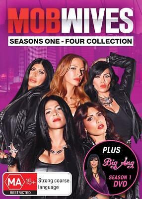 Mob Wives: Seasons 1, 2, 3 & 4 Collection & Big Ang DVD Box Set R4 New