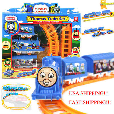Thomas Electric Train Set Kids Children's Toy Christmas Gift USA Fast shipping