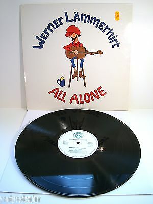 Werner Lämmerhirt - All Alone | Froggy Records 1979 | Near Mint | Cleaned LP
