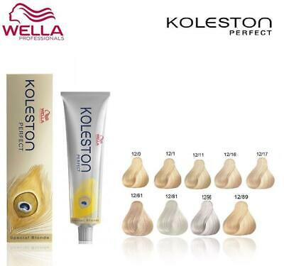 Wella Koleston Perfect Permanent Colour Dye Hair color - Special Blonde Range