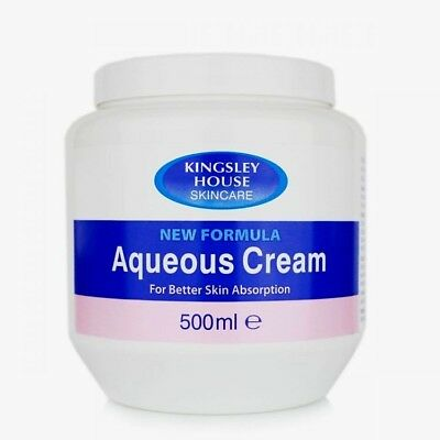 Kingsley House Skincare New Formula Aqueous Cream For Better Skin Absorption