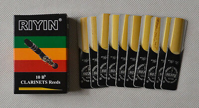 1 box Clarinet Reeds reed NEW size #2.5  NEW