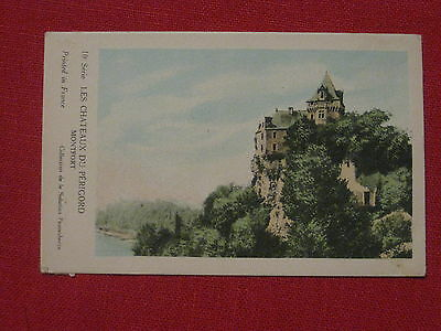 DOC. HISTORIQUE CHATEAU FEODAL MONTFORT PERIGORD Collection Solution Pautauberge