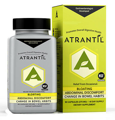 Atrantil (90 Count): Bloating, Abdominal Discomfort, and Change in Bowel Habits