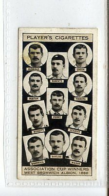 (Jc5055-100)  PLAYERS,ASSOCIATION CUP WINNERS,WEST BROMWICH ALBION,1930,#9