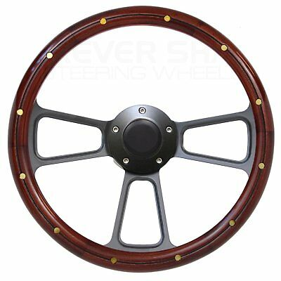 Best Seller! Full Wood Steering Wheel Kit for 1949 to 1957 Ford Pick Up Truck