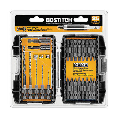 Bostitch BSA225DDIM 25-Piece Impact Bit Set