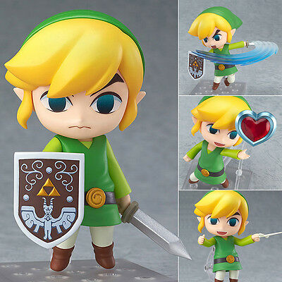 Anime Nendoroid Figure Toy The Legend of Zelda Link Action Figurine 10cm