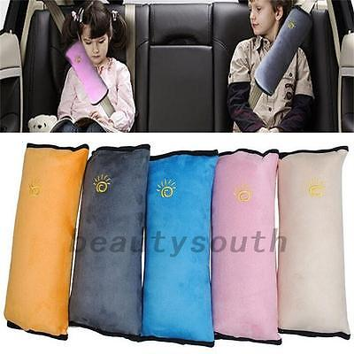 Kids Protector Car Interior Seat Belt Cover  Shoulder Pad Pillow Cushion