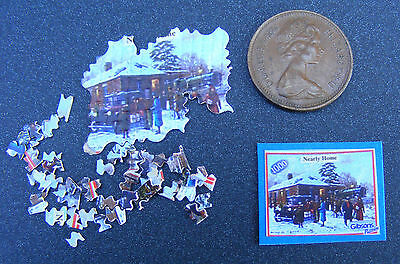 1:12th Scale Jigsaw Nearly Home Dolls House Miniature Nursery Toy Game