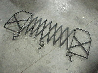 1930 MODEL T A Luggage Rack Gate Running Board Expandable Complete with Brackets