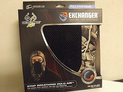 Hunting Exchanger Mask Warm Air System GREAT FOR Skiing Snowmobile Motorcycle